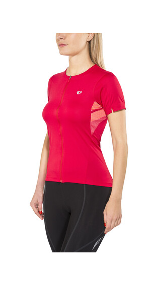 PEARL iZUMi Select Print - Maillot manches courtes Femme - rouge